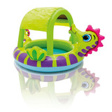 Piscina Inflable P/ Bebés Diseño Caballo De Mar Intex 57110