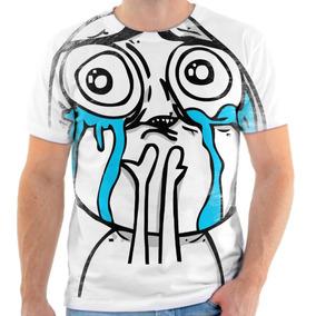 Camiseta Camisa Meme Fofo Chorando Que Lindo Frete Grátis