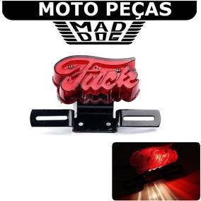 Acessório P Harley Custom Lanterna Moto Fuck Placa 883