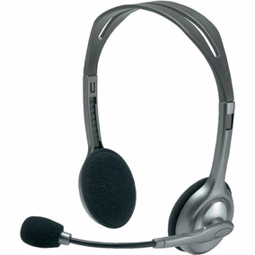 Auricular Headset Vincha Logitech H110 Microfono Skype Venex