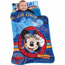 Colchoneta Infantil Bolsa Para Dormir Disney Mickey
