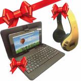 Tablet Telefunken Android +estuche Teclado+ Auricular Regalo