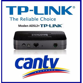 Modem Tp Link Adsl2+ Td-8616 Compatible Con Aba Cantv