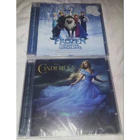 Cd Trilha Sonora Disney Frozen + Cinderella Original Lacrado