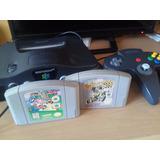Consola N64 Con Super Mario 64 Y Excitebike