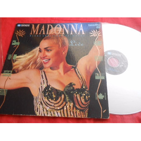 Madonna Blond Ambition World Tour Live Laserdisc Capa Dupla