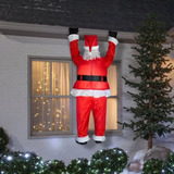 Inflable Santa Claus Santa Colgando Techo Xtreme