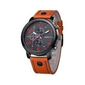 Relógio Masculino O.t Sea Sport Laranja Militar Com Fivela