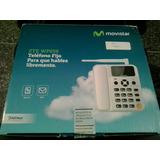 Telefono Fijo Zte Wp 659 De Chip Como Nuevo Para Repuestos!!