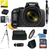 Kit Prof Camara Digital Nikon Coolpix P900 Zoom 166x Wifi