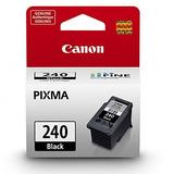 Cartucho De Tinta Toner Canon Tinta Negra Pg-240, Compatible
