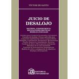 Juicio De Desalojo . De Santo (u)