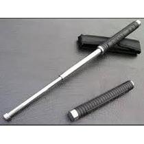 Baston Retractil 50cm Cromado Defensa Personal