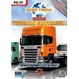 Euro Truck Simulator Gold Edition - Pc Dvd Original Lacrado
