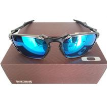 Oculos Oakley Squared Juliet Double X 24k Badman Magic Blue