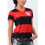 Camisa Flamengo Champion Babylook Feminina Original