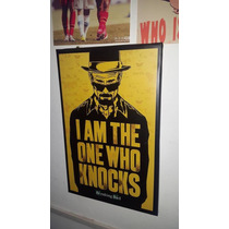 Cuadro Breaking Bad Heisenberg De Pared 30x45cm Somos Local!