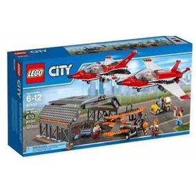 Lego City Aviões De Caça 60103 Lacrado Original