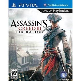 Assassins Creed 3 Liberation Pt-br Psvita Mídia Física Novo