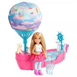 Barbie Dreamtopia - Chelsea Com Barco Balão - Mattel