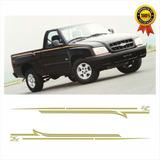 Kit Faixas/adesivos S10 Rodeio 2001