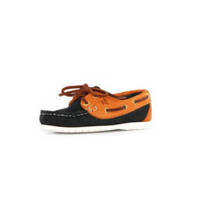 Zapatos Nauticos Mocasines Peskdores Niños Darkblue Dbgk2001
