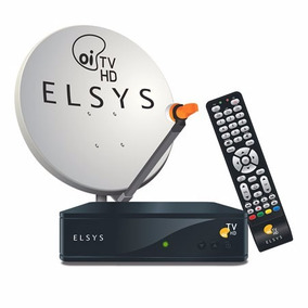 Kit Oi Tv Livre Hd Receptor Elsys Etrs 35 + Antena