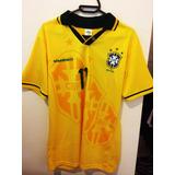 Camisa Seleção Brasileira Brasil Retrô Copa 94 Romário 701bda2645784