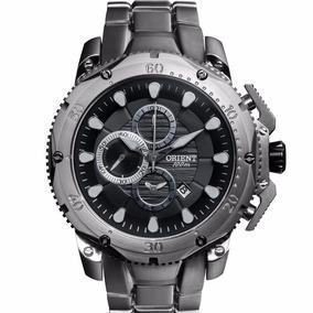 Relógio Masculino Orient Titânio Grande Cronógrafo Mbttc011