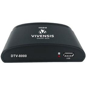 Conversor De Tv Digital Dtv 8000 Preto Vivensis