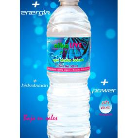 Agua Alcalina Ph 8.5, Antioxidante, Baja En Sales, Ionizada