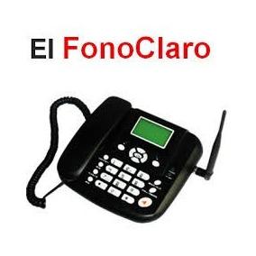 Telefono Fijo Prepago Claro A Solo S/.99 Sin Recibos