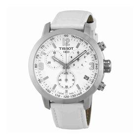 c544769c773f Tissot Prc 200 Cronógrafo Esfera Blanca Acero Reloj T0554