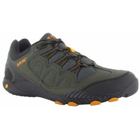 Zapatillas Trekking Hi Tec Fuerza Iii 3 Olive Montaña