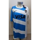 Camiseta Selección Argentina Rugby 2013 Titular Nueva Nike