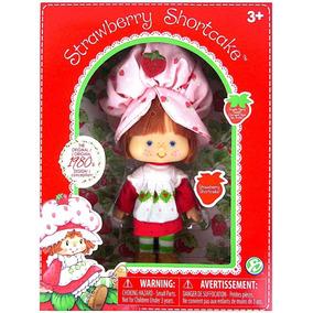 Boneca Moranguinho Clássica Strawberry 1980 - Com Cheirinho