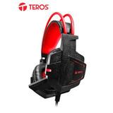 Te Auriculares Gaming Teros Te-g1500, Estereo, Micrófono, 3.