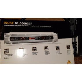 Amplificador Potencia Digital Bheringer Inuke Nu6000 Dsp