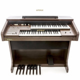 Órgão Eletrônico Tokai Md-10ii Bivolt 100 Watts Rms Marrom
