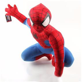 Boneco Pelúcia Homem Aranha Vingadores Avengers C/ Som Mater