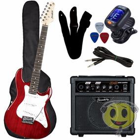 Kit Guitarra Strinberg Egs216 Cubo Sg15 + Acessorio Kadu Som