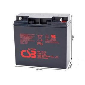 Bateria 12v 17ah Csb No Break Apc Sms Jet Ski Gp12170 Nova