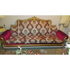 Sofa Antigo Luis Xv Entalhado Chipendale