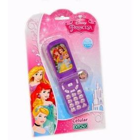 Telefono Celular Disney Princesas Sonidos Orig Ditoys Bs005