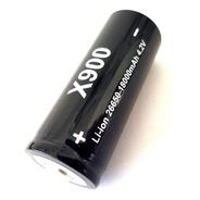Bateria Li-ion X900 Para Lanterna Bl 26650 - 16800mah 4.2v