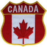 Escudo De Canada Parche De 2.75 Pulgadas Ivan1349