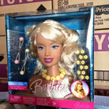 Remató Cabeza De Barbie Mattel Nueva