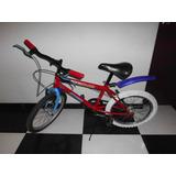 Remato Bicicleta Para Niño Soporta 70kg Aro 20 Con Rueditas