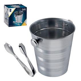 Balde De Gelo Aluminio 11 Litros - Casa 30b41a522f209