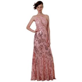 Vestido Longo Paetê Casamento Madrinha Festa Elegante